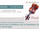 P  Tchaikovsky   Symphony No  6 in B Minor, Op 74  Pathétique  Allegro  Allegro non troppo