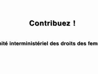 Najat Vallaud-Belkacem introduit comite-femmes.gouv.fr