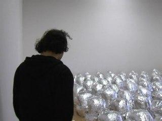 """Kader Attia, à propos de """"Ghost"""" (2007). Fruits de la Passion : dix ans du Projet pour l'Art Contemporain – Centre Pompidou"""