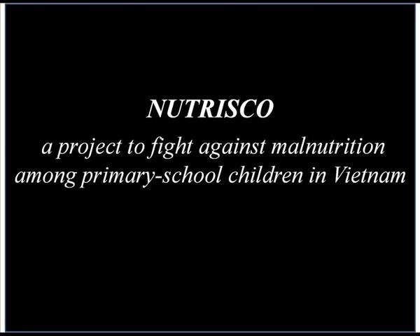 Nutrisco, program against malnutrition among school children in Vietnam