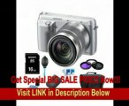Sony NEX-F3K/S NEX-F3KS NEXF3KS NEXF3K NEX-F3K 16.1 MP Compact System Camera with 18-55mm Lens (Silver) ULTIMATE Bundle with Sony 16GB High Speed Card, Deluxe Filter Kit, Spare Battery, Padded Case + More