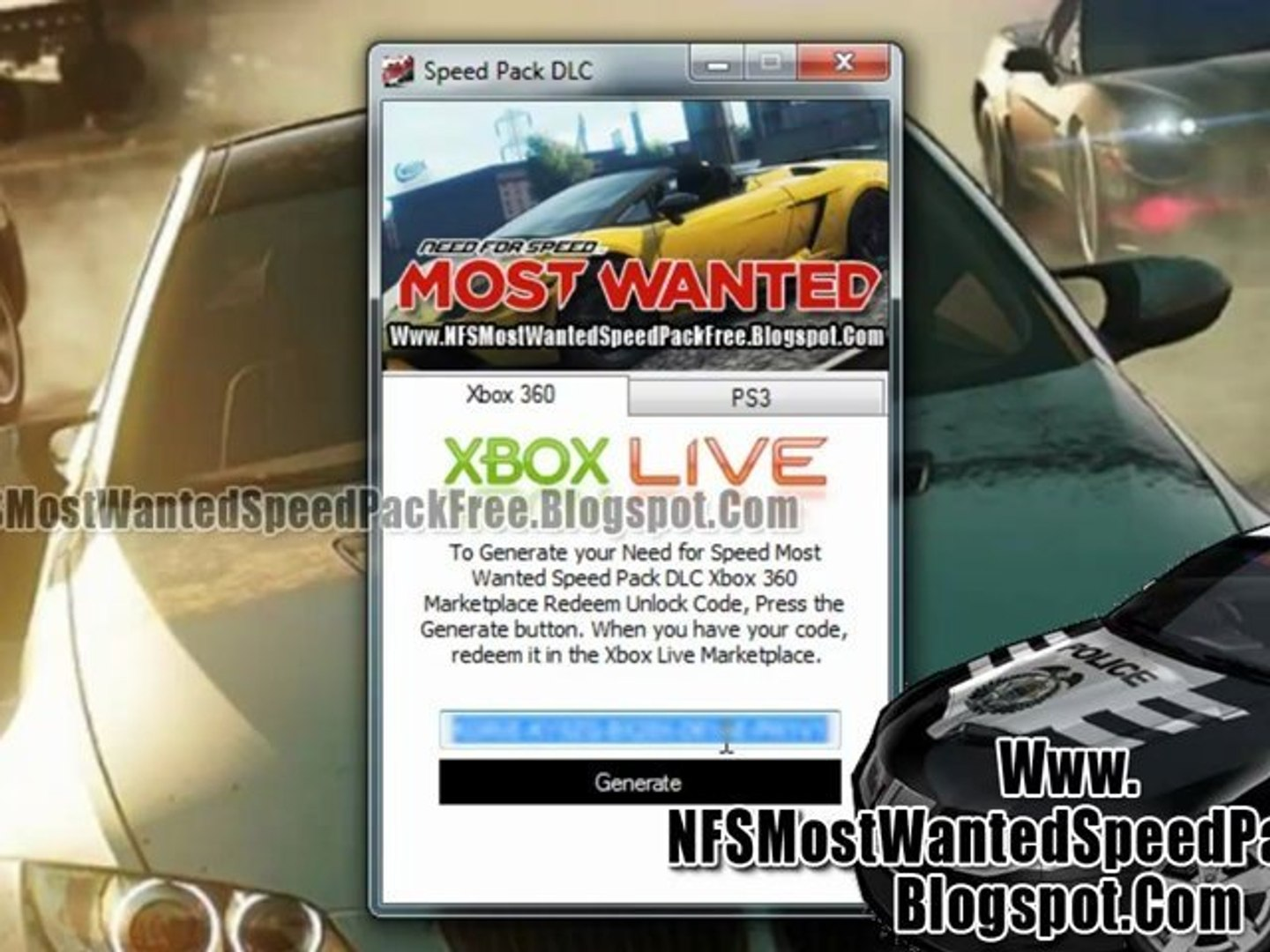 How To Install Need For Speed Most Wanted Speed Pack Dlc Video