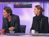 Sandrine Quétier et Vincent Cerutti chez Morandini