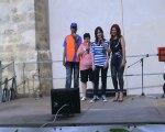 Christian,Evelyne,moi  et Sylvie on chante la musique de la star académy