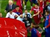 Dos jugadores serbios sub 21, sancionados tras los incidentes frente a Inglaterra
