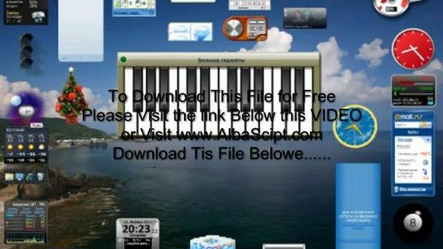899 Gadgets for Windows 7XPVista