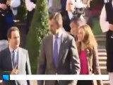 Los Príncipes de Asturias visitan Oviedo