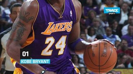 TRACE Sports vous explique dans le Top Male la signification derrière les numéros de maillots de NBA