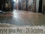 Inondations: La Seyne SouS Mer - 26 Octobre 2012
