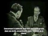 1958 _ Interview d'Aldous Huxley auteur du Meilleur des Mondes