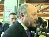 Interview de Laurent Fabius au congrès de Toulouse