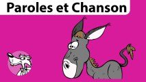 Mon Äne, une chanson traditionnelle pour les enfants par Stéphy -Série Chant et Paroles-
