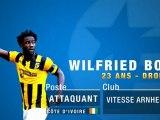 """Wilfried Bony, """"l'Hulk africain"""" du Vitesse Arnhem"""