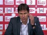 Conférence de presse LOSC Lille - Valenciennes FC : Rudi GARCIA (LOSC) - Daniel  SANCHEZ (VAFC) - saison 2012/2013