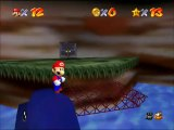 Super Mario 64 Walkthrough FR - Toad+Mine des casquettes-métal