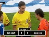 Liga Adelante  Sabadell 1  Córdoba 1