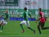 But Renaud COHADE (49ème) - AS Saint-Etienne - Stade Rennais FC (2-0) - saison 2012/2013