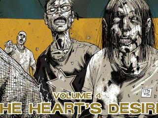 CGR Comics - THE WALKING DEAD VOL. 4: THE HEART'S DESIRE comic review