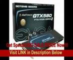 EVGA GeForce GTX 580 FTW Hydro Copper 2 3072 MB GDDR5 PCI Express 2.0 2DVI/Mini-HDMI SLI Ready Limited Lifetime Warranty Graphics Card, 03G-P3-1591-AR