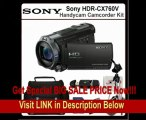 Sony HDR-CX760V Handycam Camcorder + Accessory Kit. This Package Includes the Sony CX760V Camcorder(Black), 32GB Memory Card, Memory Card Reader, Extended Life Battery, Rapid Travel Charger, 72 Tripod, Large Carrying Casr & SSE Microfiber Cleaning Cl