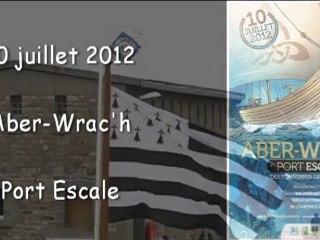 Aber Wrac'h2012 (1/3)  LANDEDA 10 juillet 2012 port escale et baptême du misainier Jean-René