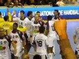 PSG Handball - Nantes / Coupe de la Ligue Handball / Coup-franc de la victoire Maqueda