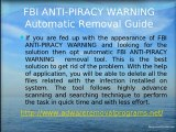 Delete FBI ANTI-PIRACY WARNING from your PC