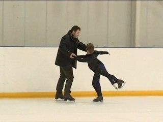 Danse sur glace : Solène et Jean-Hans, élèves du ROC
