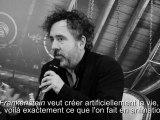"""Frankenweenie"" de Tim Burton, conférence de presse"