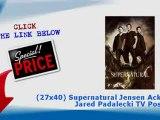 """""""(27x40) Supernatural Jensen Ackles Jared Padalecki TV Poster"""""""