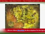 """The Lord Of The Rings - Giant Movie Poster - Map Of Middle Earth (Size: 53'' x 39'')"""