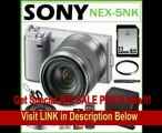 Sony NEX-5NK/S 16.1MP Compact Interchangeable Lens Digital Camera in Silver with 18-55mm Lens + Sony E-Mount SEL16F28 16mm f/2.8 Wide-Angle Lens + 32GB SDHC + Sony Remote Commander + Sony Case + Lens Filter + Accessory Kit