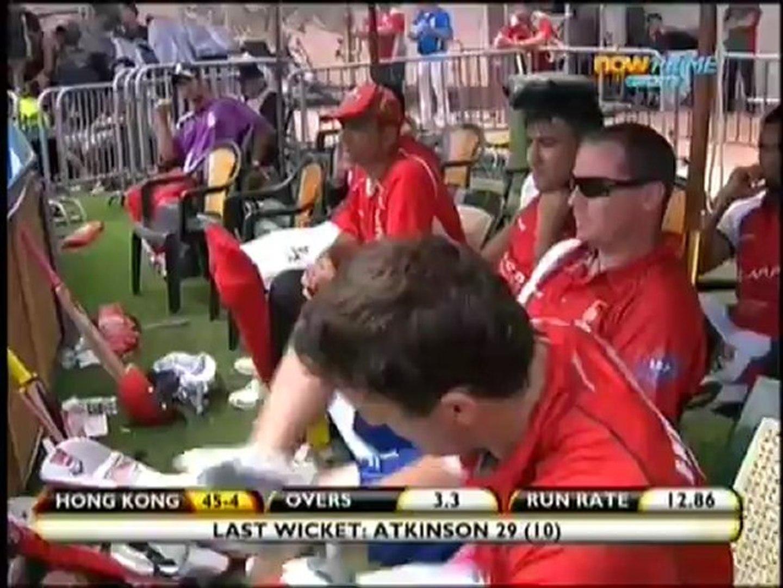 Hong Kong vs Pakistan   Hong Kong Super Sixes 2012