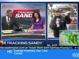 Hurrican horse : l'homme cheval qui attend Sandy