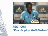 PSG - OM: pas de plan anti Zlatan