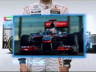 F1, GP Abu Dhabi 2012: La guida alla pista di Button