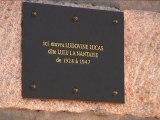 Plaque honorifique en hommage à Lulu la  Nantaise - 23 octobre 2012 - Nantes