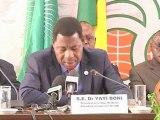 DISCOURS - Macky Sall  - Sénégal - partie 1
