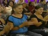Jencarlos  y Gaby  en Pa-lante con Cristina parte2