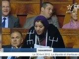 """Du berbère (tamazight) au Parlement marocain - Fatima Tabaamrant a posé une question orale en """"Tachelhit"""" au Parlement du Maroc"""