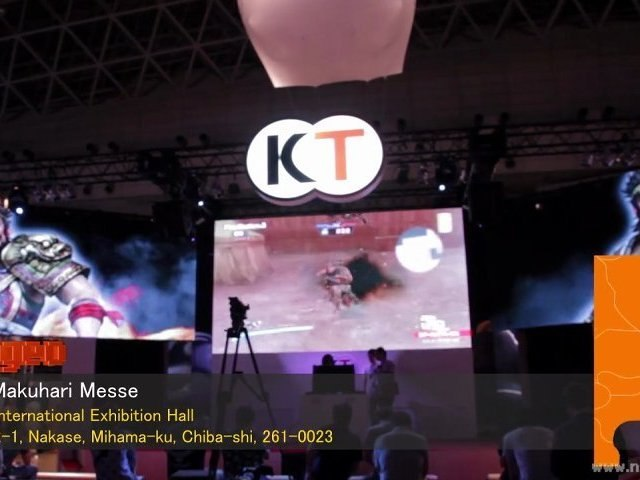 Tokyo Game Show 2012 Special Tecmo Koei Games booth and games