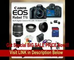 SPECIAL DISCOUNT Canon EOS Rebel T1i SLR Digital Camera Kit with 18-55mm Lens + SSE PRO Shooter Deluxe Carrying Case, Batteries, Lens, Flash & Tripod Complete Accessories Package