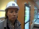 Caméra embarquée dans le nouveau Centre de formation de l'AJA