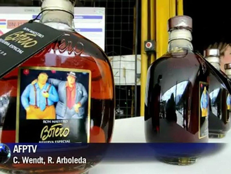 Fernando Botero na garrafa de rum