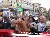 AGDE - 2012 - Le tout  dernier meeting de soutien à François HOLLANDE a eu lieu à AGDE ce Vendredi 4 mai à 18 h 30 sur la Place du 18 Juin.  Fabrice MUR,  agissant en qualité de leader du Rassemblement de la gauche Agathoise autour de François HOLLAN