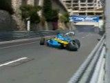 Alonso Crash in Monaco 2004
