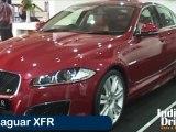 New Jaguar XFR at 2012 Autocar Performance Show