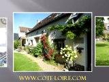Côté Loire Immobilier, Maisons à vendre en Touraine, Vallée de la Loire.