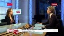 L'INVITE POLITIQUE,Invitée: Marie-Noëlle Lienemann