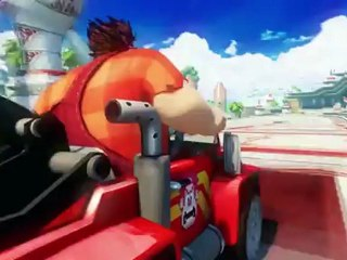 Wreck-It Ralp de Sonic & Sega All Stars Racing Transformed